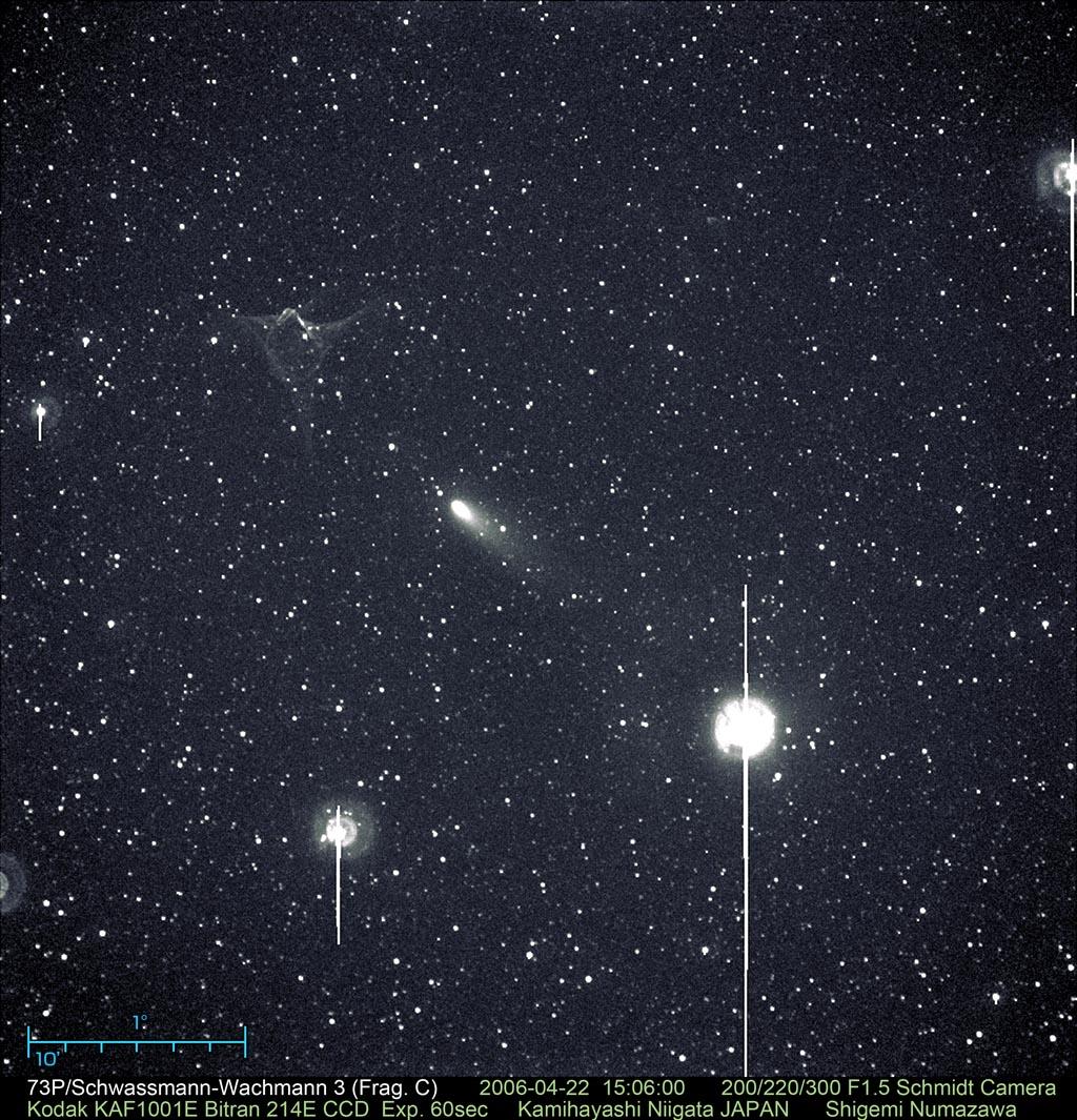 Numazawa & JPLinc. Comet 73P/S...